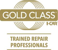Gold Class I-Car Trained Repair Professionals, Logo