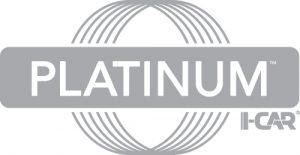 Platinum I-Car, Logo