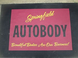 Springfield Auto Body Inc., Door Mat